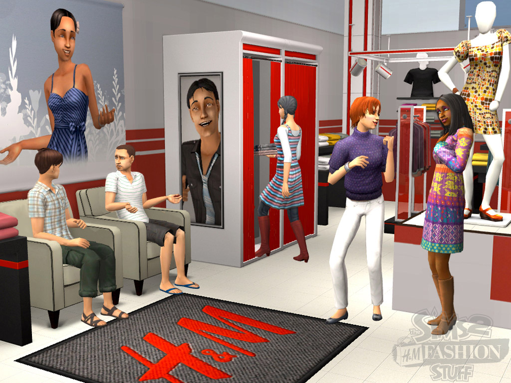 extra sims h m moda. Black Bedroom Furniture Sets. Home Design Ideas