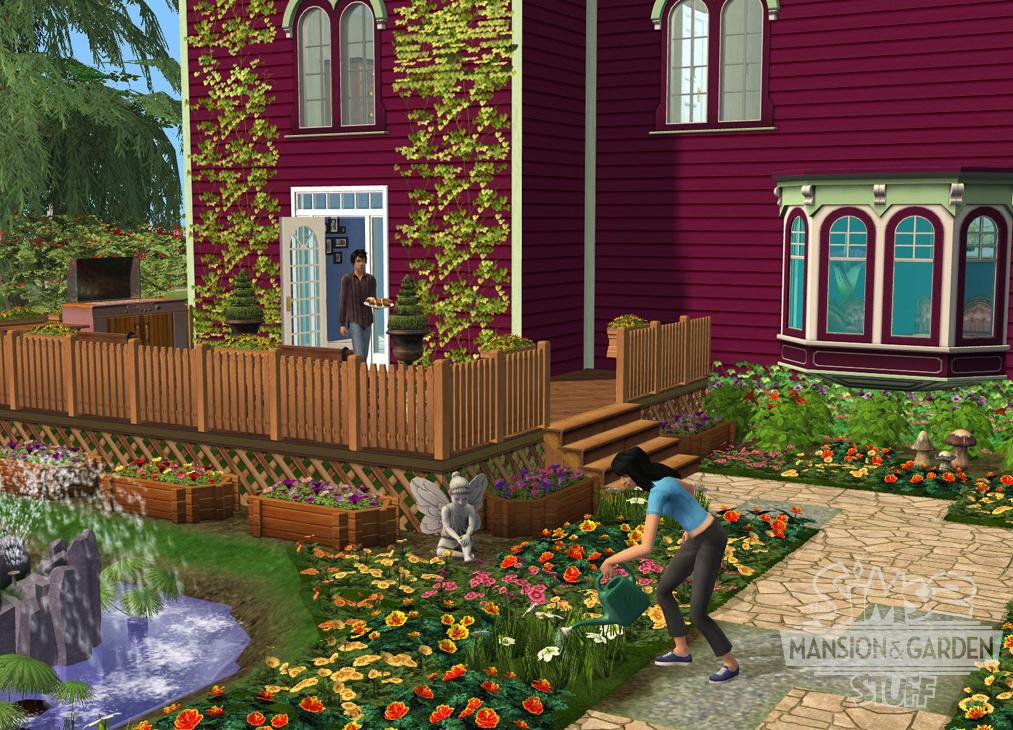 aporte sims 2 mansiones y jardines taringa